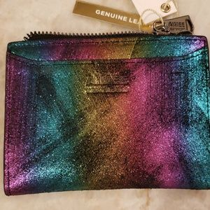 Aimee Kestenberg Rainbow Wallet NWT